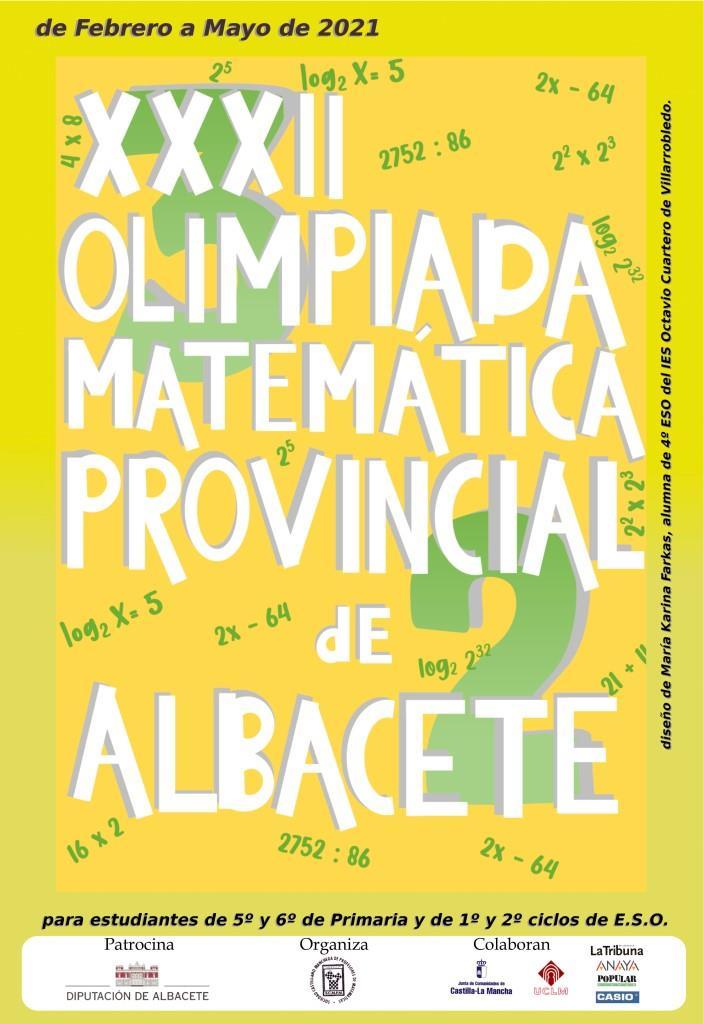 Clasificación para la Olimpiada matemática de Castilla-La Mancha