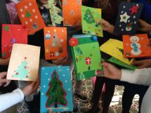 CHRISTMAS CARDS EXCHANGE (e-Twinning)